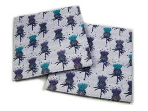 Scottish Thistle Paper Napkins