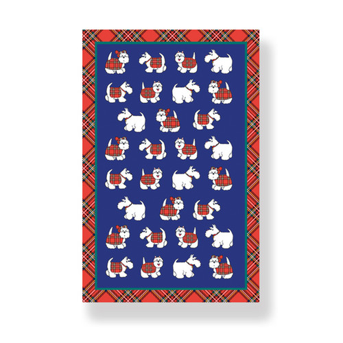 artan Terrier Tea Towel