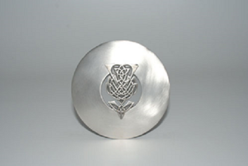 Thistle Plaid Brooch