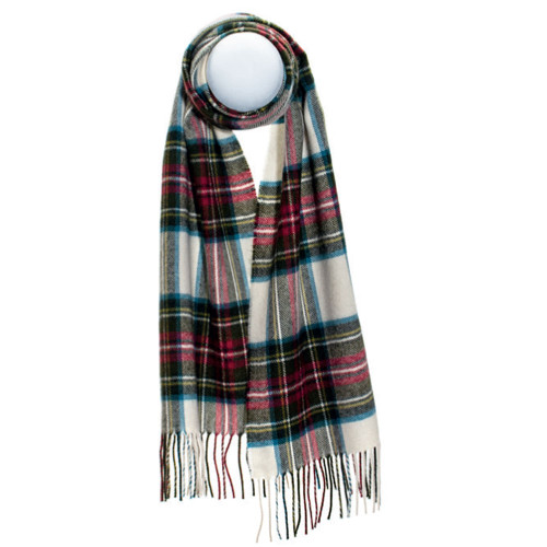 Stewart Dress Weathered Luxury Oversized Lambswool Scarf