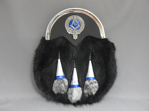 Muskrat Masonic Sporran