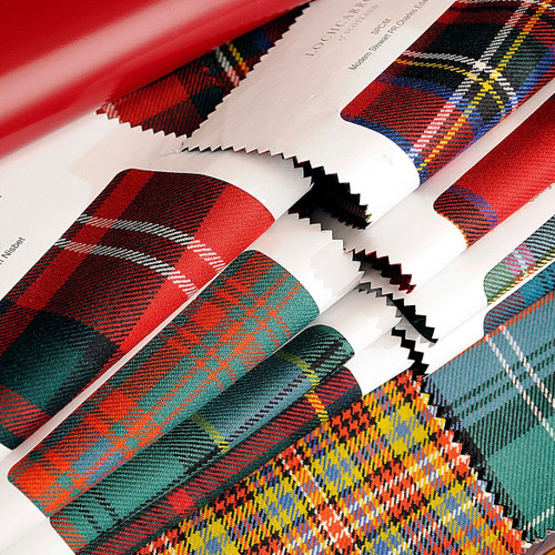 Reiver 10 oz. Light Weight Tartan Fabric Sample