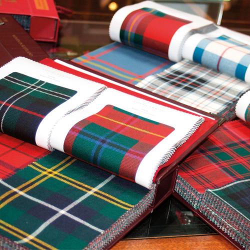 Braeriach 13 oz. Medium Weight Tartan Fabric Sample