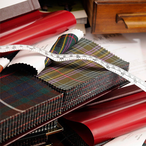 Strome 16 oz. Heavy Weight Tartan Fabric Sample