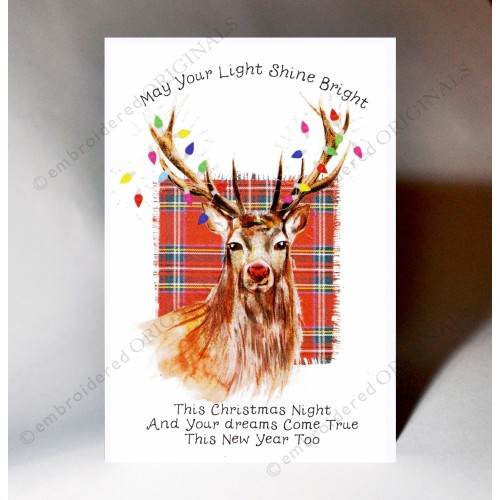 Christmas Card Stag