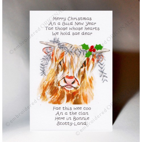 Christmas Wee Coo Card