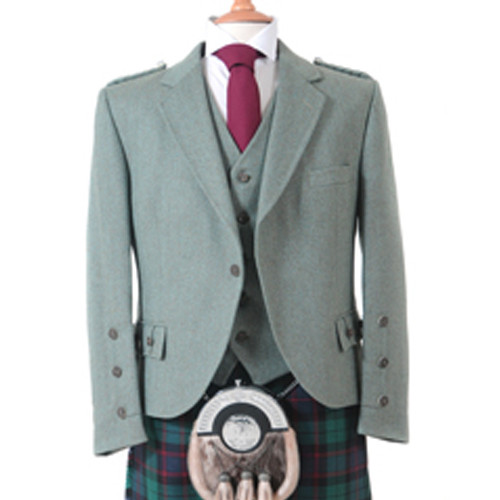 Moss Tweed Jacket