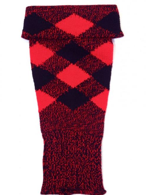 Black/Red Hose Tops