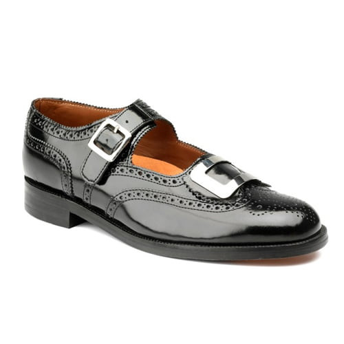 Thistle Buckle Brogue