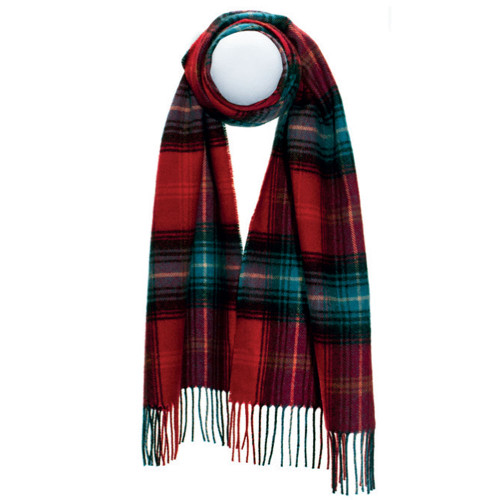 Lochcarron Ruby Darwin Luxury Oversized Lambswool Scarf