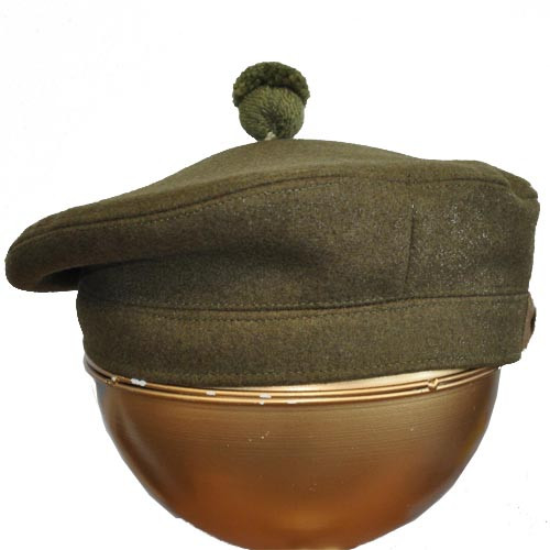 TAM O'SHANTER SOLDIER BONNET