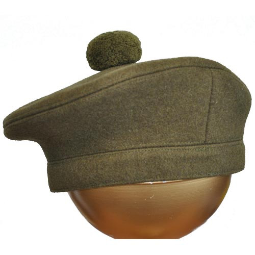 TAM O'SHANTER OFFICERS BONNET