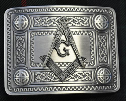 Masonic Antique Belt Buckle