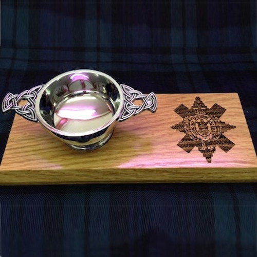 Clan Quaich Plaque
