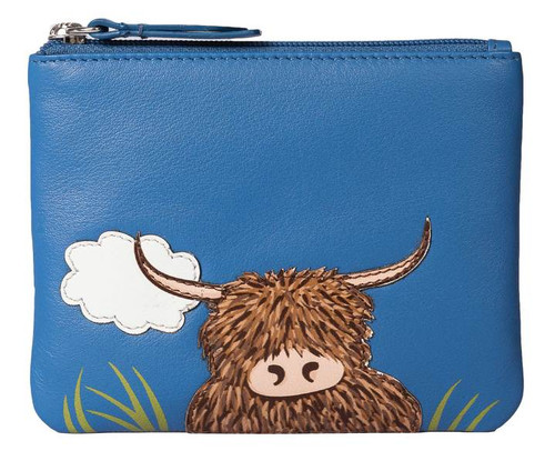 Bella Highland Cow Coin Purse