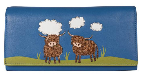 Bella Highland Cow Matinee Purse