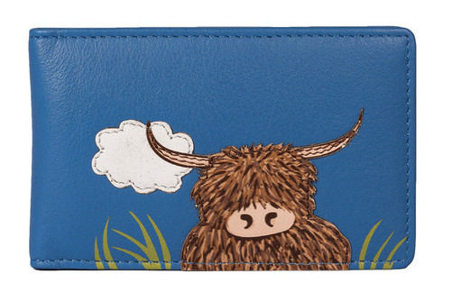 Bella Highland Cow ID / Card Holder - RFID