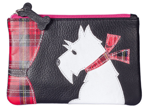 Best Friend Dog at Window Coin Purse