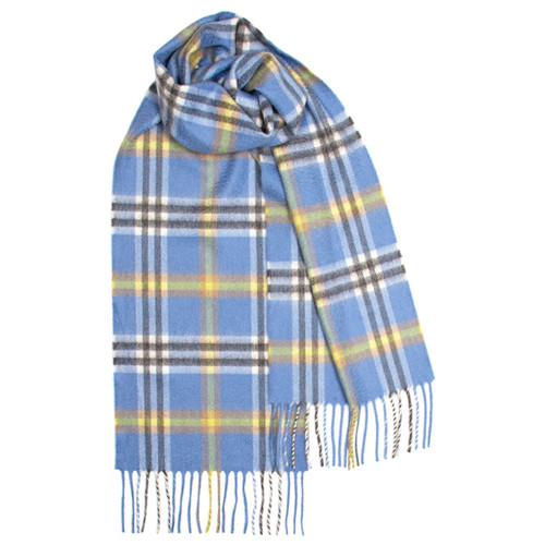 Elie Apple Check Luxury Cashmere Scarf