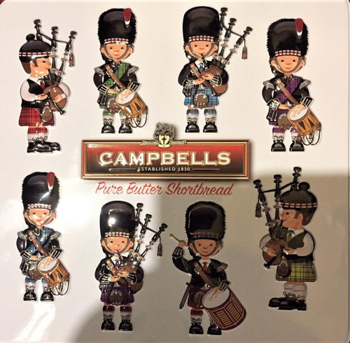 Campbells Pipers Tin