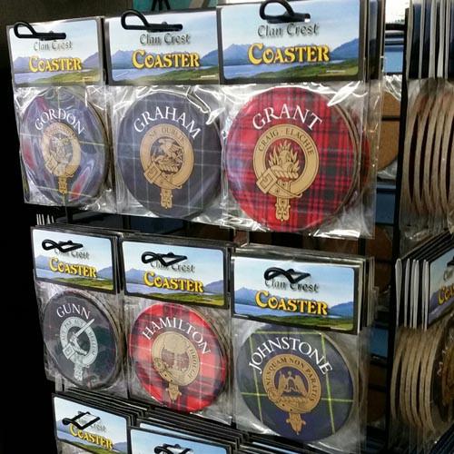 Clan Crest Coasters