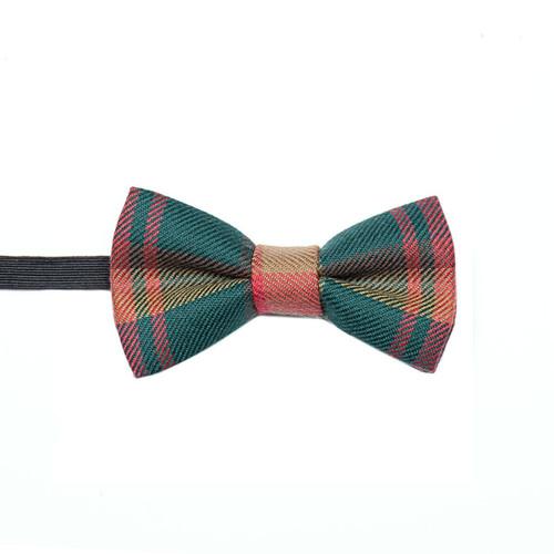 Made to Order Reiver Lightweight Boys Childrens Childs Tartan Bow Tie