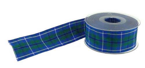 40mm Tartan Ribbon