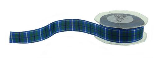 25mm Tartan Ribbon