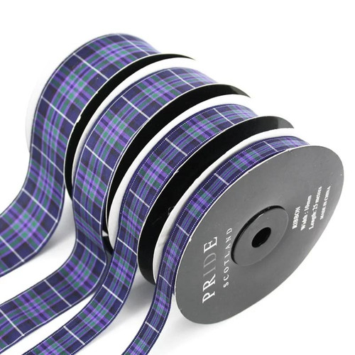Highland Pride Tartan Ribbon 38mm