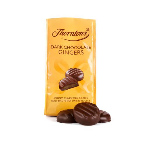 Thorntons Dark Chocolate Gingers (100g)