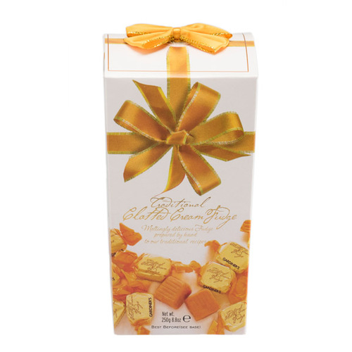 Clotted Cream Fudge Ribbon Carton 250g