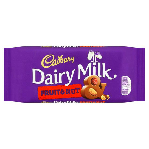 Cadbury Fruit Nut bar