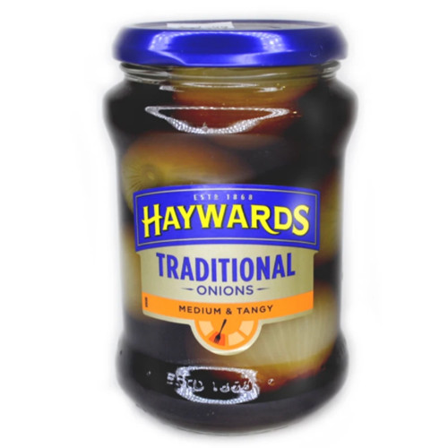 Haywards | Traditional Onions -Medium & Tangy 400g