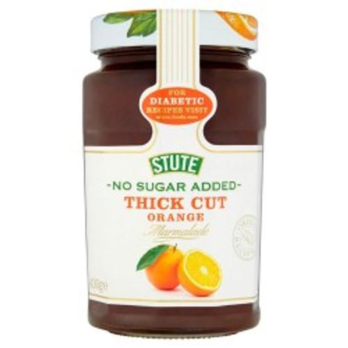 Stute No Sugar Added Thick Marmalade 430g