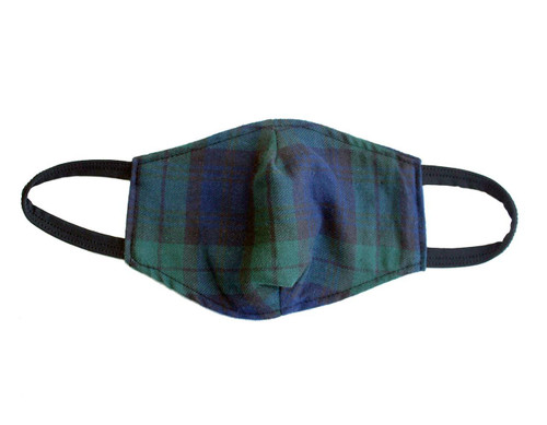 Tartan Cotton Face Masks | Black Watch