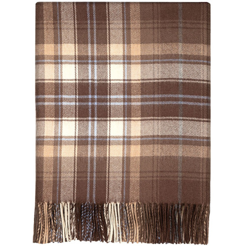 McVitie Check Lambswool Blanket