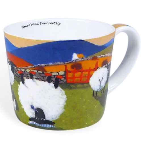 Time To Put Ewer Feet Up Mug
