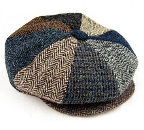 8 Piece Harris Tweed Cap