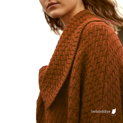 IrelandsEye | Currow Wool Cardigan gold