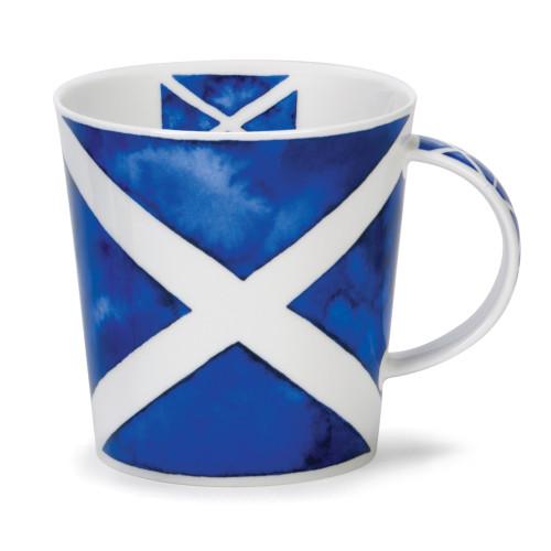 Cair Saltire Dunoon mug