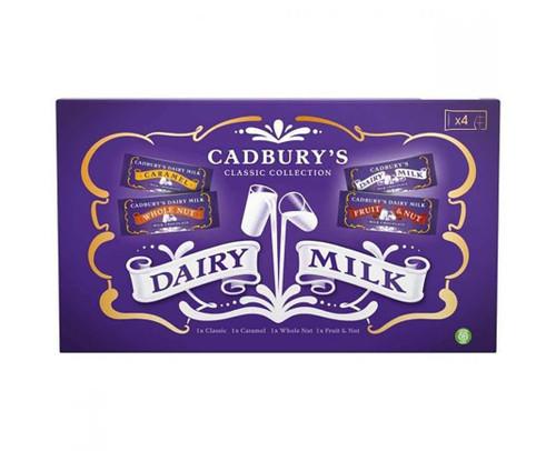 Cadbury Classic Collection 4 Bar Selection Box