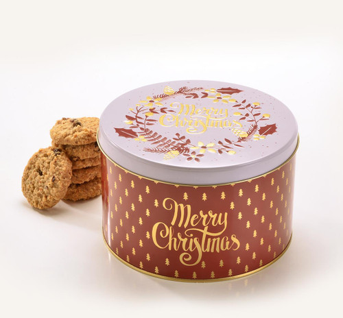 Farmhouse Spiced Oatflips Christmas Tin 375g