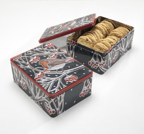 Farmhouse | Robin Tin with Cranberry Biscuits 400g
