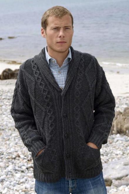 West End Knitwear Button Cardigan