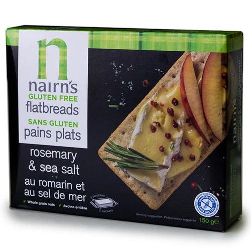 Nairn's Gluten Free Rosemary & Sea Salt Flatbread