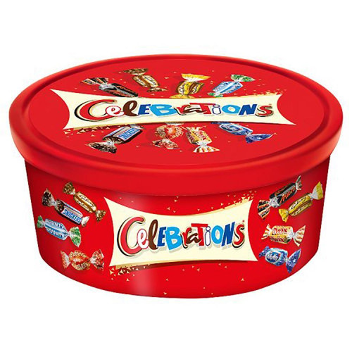Mars Celebrations Tub