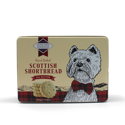 Duncan's of Deeside  Scottish Shortbread Tin 300g
