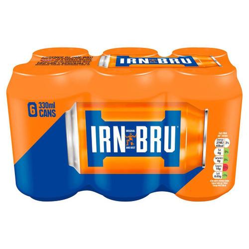 IRN-BRU Cans 6pk