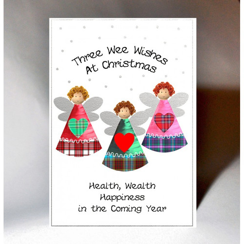 Christmas Three Wishes Card