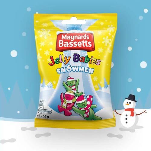 Bassetts Jelly Babies Snowmen